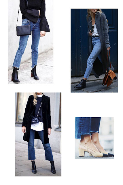 Cropped Jeans Outfit Ideas