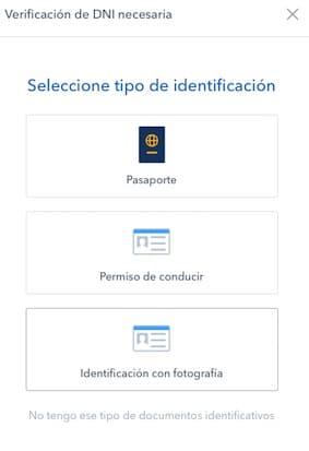 verificar identidad coinbase para comprar EOS coin