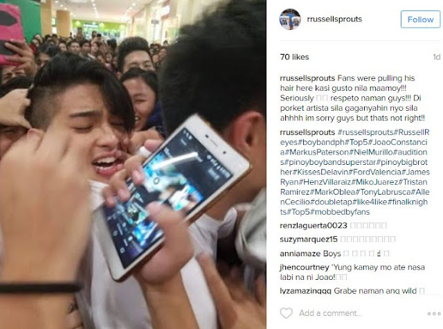 BoybandPH Gets Mobbed and Harassed by Fans In Mall Show. WATCH HERE!
