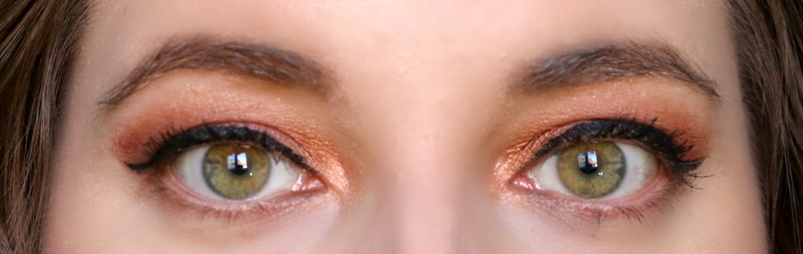 Valentine's Day Makeup Look Copper Rose Eyes
