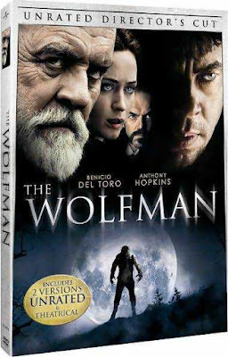 Poster The Wolfman 2010 Dual Audio HD 720p