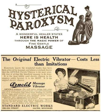 ERIK MARTIN WILLÈN: Vibration is Life or how to cure female hysteria