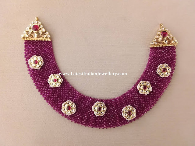 Rubies Net Necklace