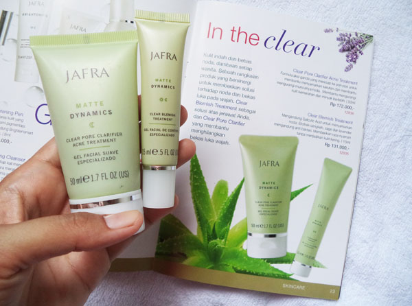 Review: Jafra Clear Blemish dan Clear Pore Clarifier Acne ...