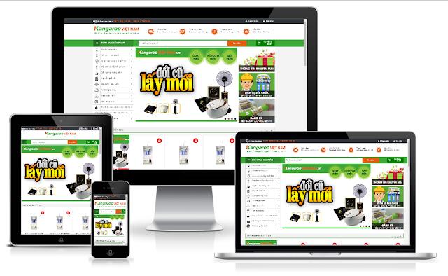 Template blogspot bán hàng full responsive