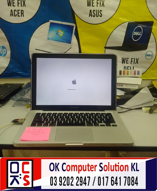 [SOLVED] HARD DISK MACBOOK ROSAK | REPAIR MAC PANDAN PERDANA 3