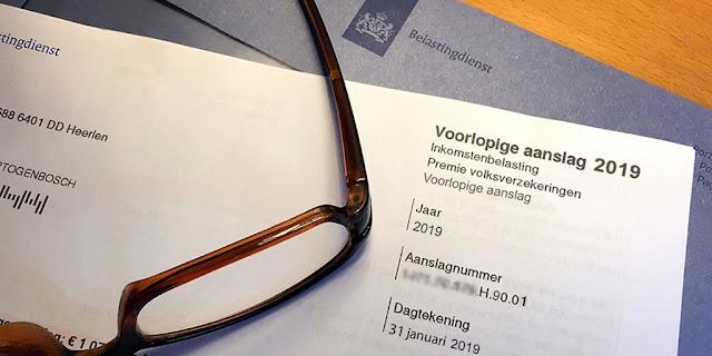 معاني مصطلحات الضريبة الهولندية باللغة العربية
