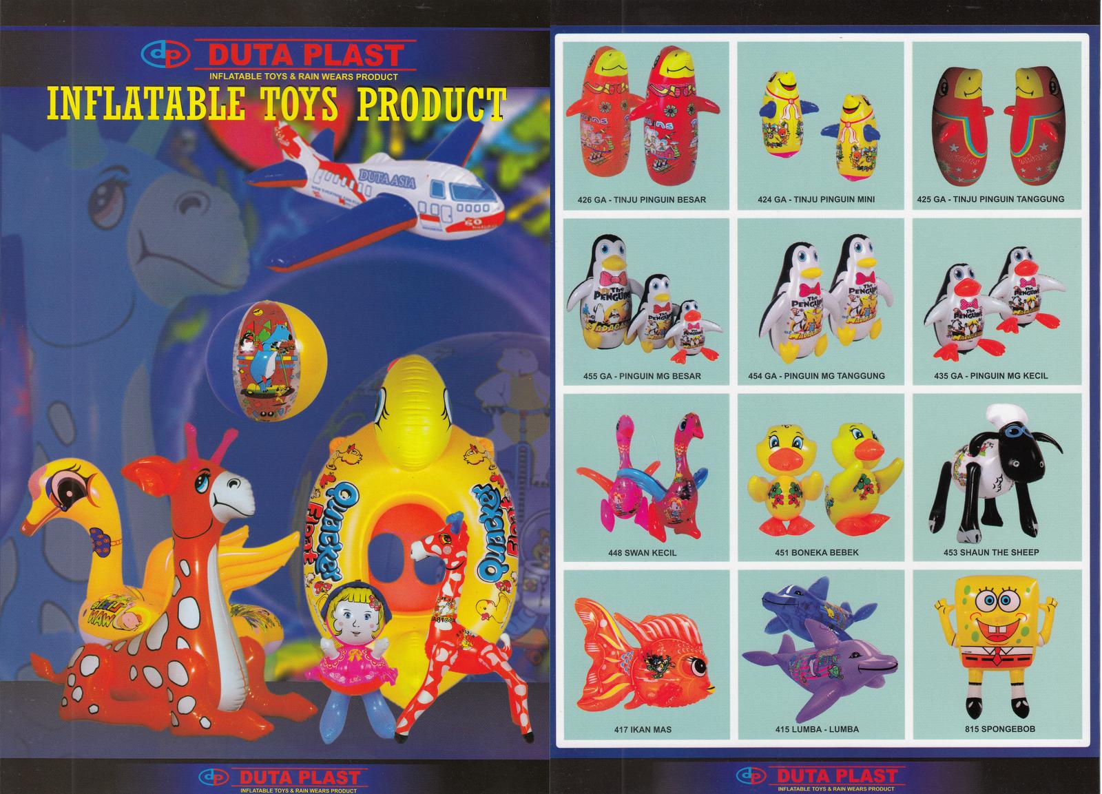 Harga Mainan Tiup Duta Plast Anugerah Utama Balon Motif Ultraman