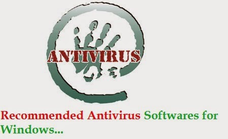 5 Recommended Antivirus Softwares for windows
