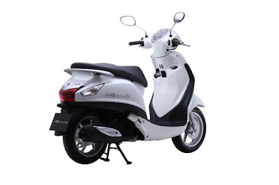 Yamaha Fascino scooter HD image