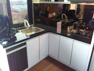 Interior Kitchen Set Minimalis Pada Dapur Sederhana