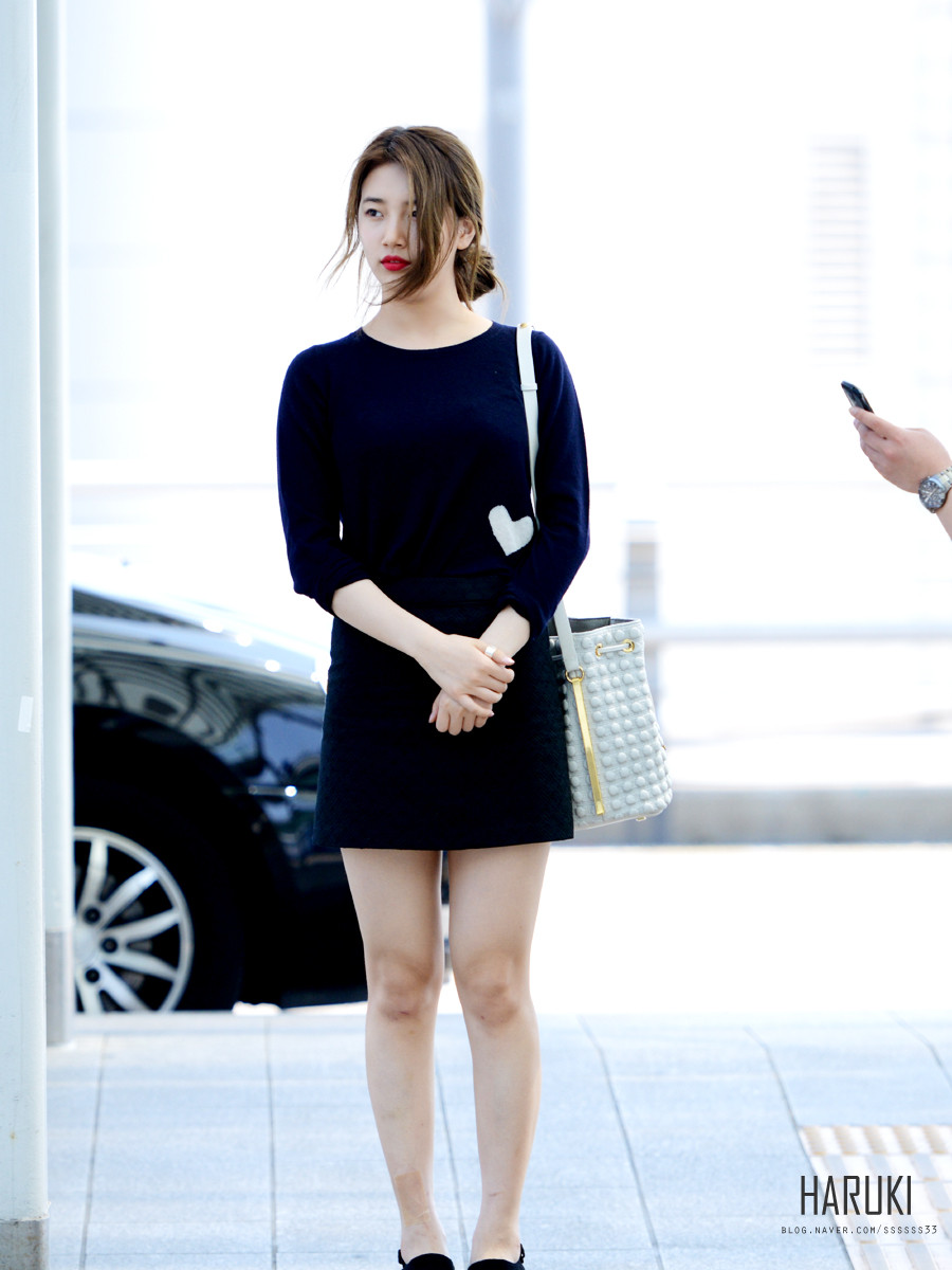 suzy airport fashion 2015 official korean fashion