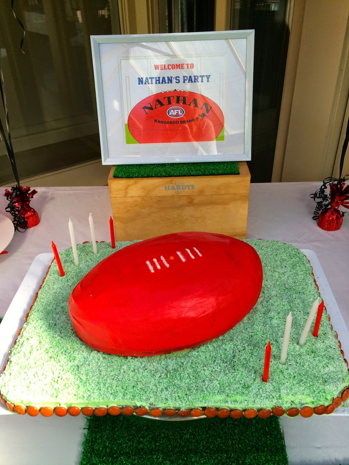 Seventies Baby How To Host An Afl Birthday Party