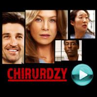 """Chirurdzy - naciśnij play, aby otworzyć stronę z odcinkami serialu """"Chirurdzy"""" (Grey's Anatomy - odcinki online za darmo)"""