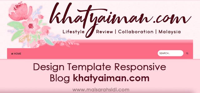 Design Template Responsive Blog khatyaiman.com