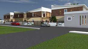 IT IS A VERY NICE DAY AND WE HAVE GOT A 4 BEDROOM TERRACE APARTMENT FOR YOU @ SANGOTEDO, LEKKI
