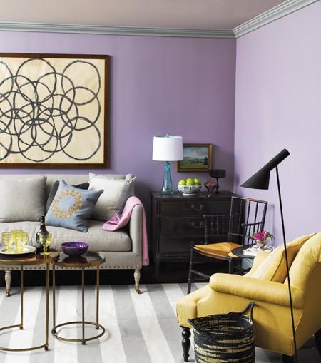 New Home Interior Design Colourful Contemporary Living Rooms
