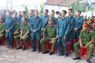 Tuyên phạt 15 bị cáo về hành vi gây rối ở Bình Thuận