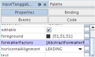 Kelas Informatika - Mengatur Atribut Formatter Factory