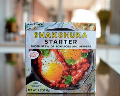 Trader Joe's Shakshuka Starter product review ♥ A Veggie Venture. Low Carb. Filling, Especially With an Egg On Top. Weight Watchers Friendly.
