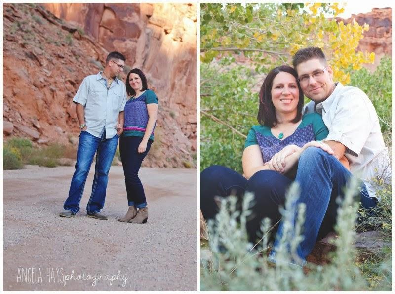 Moab Wedding Photography: Angela Hays Photography: Cerissa & James Engagements (Moab
