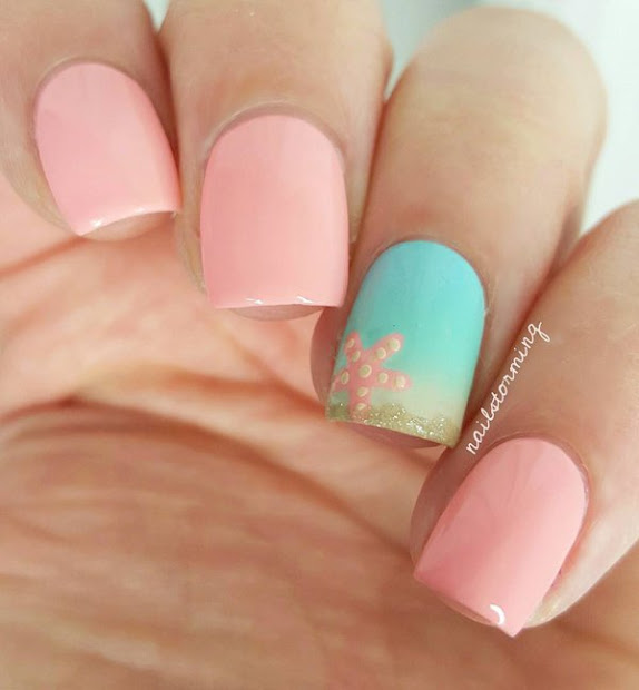 amazing ocean nail art ideas