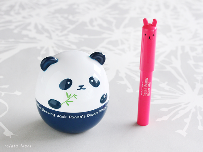 TonyMoly Bunny Gloss Bar, Panda's Dream White Sleeping Pack