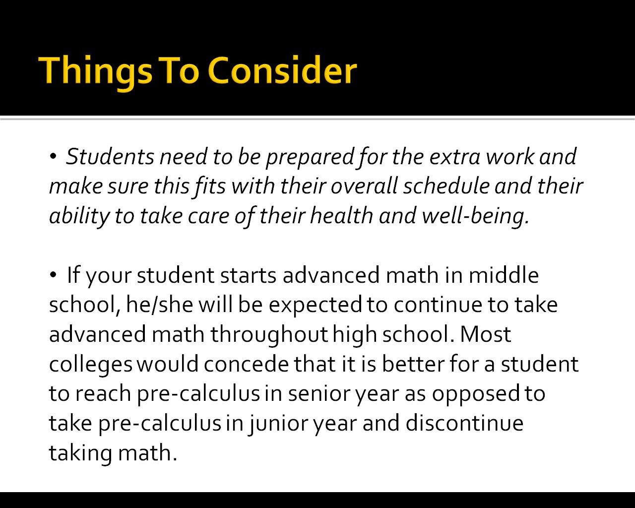To Accelerate or Not Accelerate in Middle School - The Middle School ...