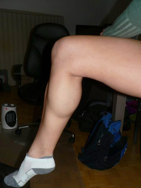 Socks and calves