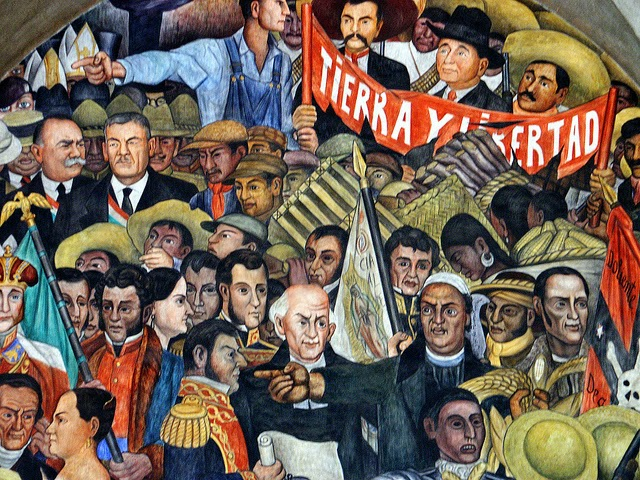 Jose antonio bru blog el muralista diego rivera la for Arte mural mexicano