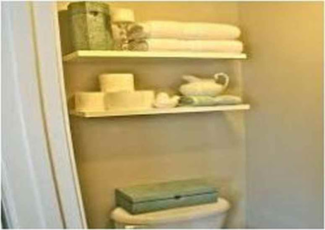 Ideas For Decorating Bathroom Shelves DB 08A
