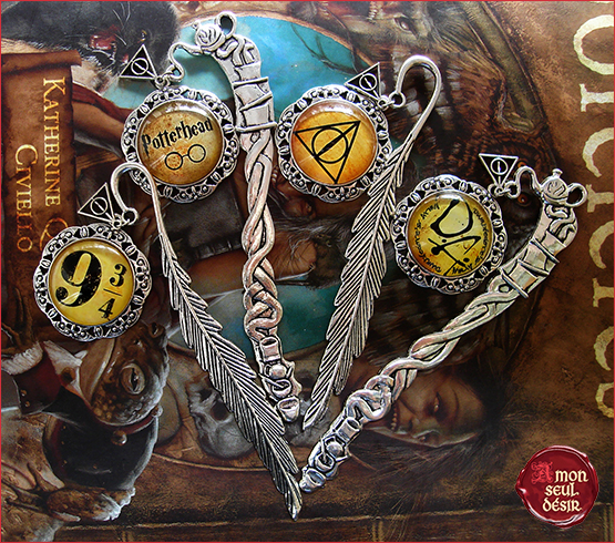 marque page Harry Potter Albus Dumbledore Potterhead Poudlard Express Hogwarts Train Bookmark Hermione Granger Ron Weasley Harry Potter