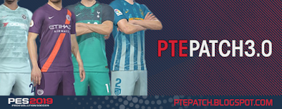 PES 2019 PTE Patch 2019 3.0 AIO Season 2018/2019