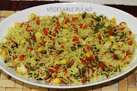 vegetarian pulao recipe
