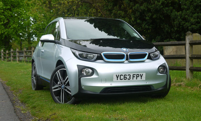 BMW i3 Rex from the front