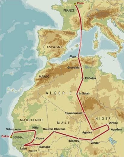 1986 dakar route - PARIS-DAKAR - OS CAMPEÕES DOS ANOS 80