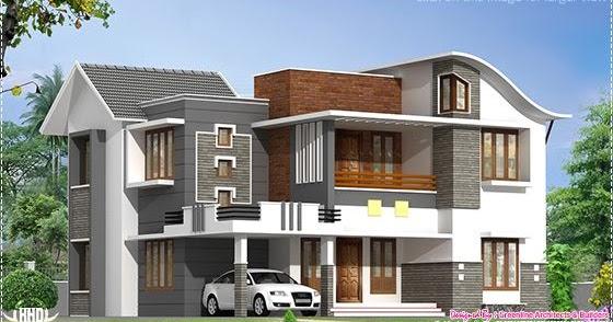 2200 sq.feet beautiful modern villa - Kerala home design