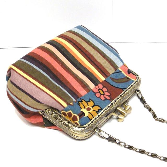 Полосатая сумка в восточном стиле - сумка кошелек для выпускного бала. Ручная работа, один экземпляр, доставка курьером или почтой