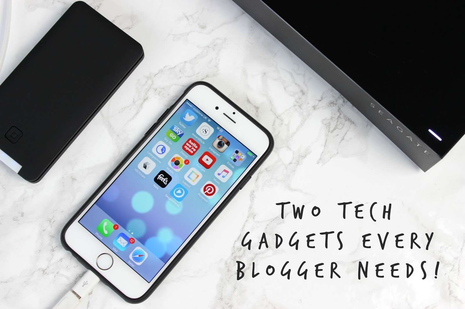 Two tech gadgets every blogger needs