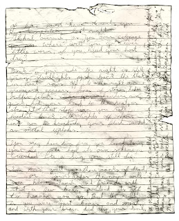 A page from Israel Keyes suicide letter