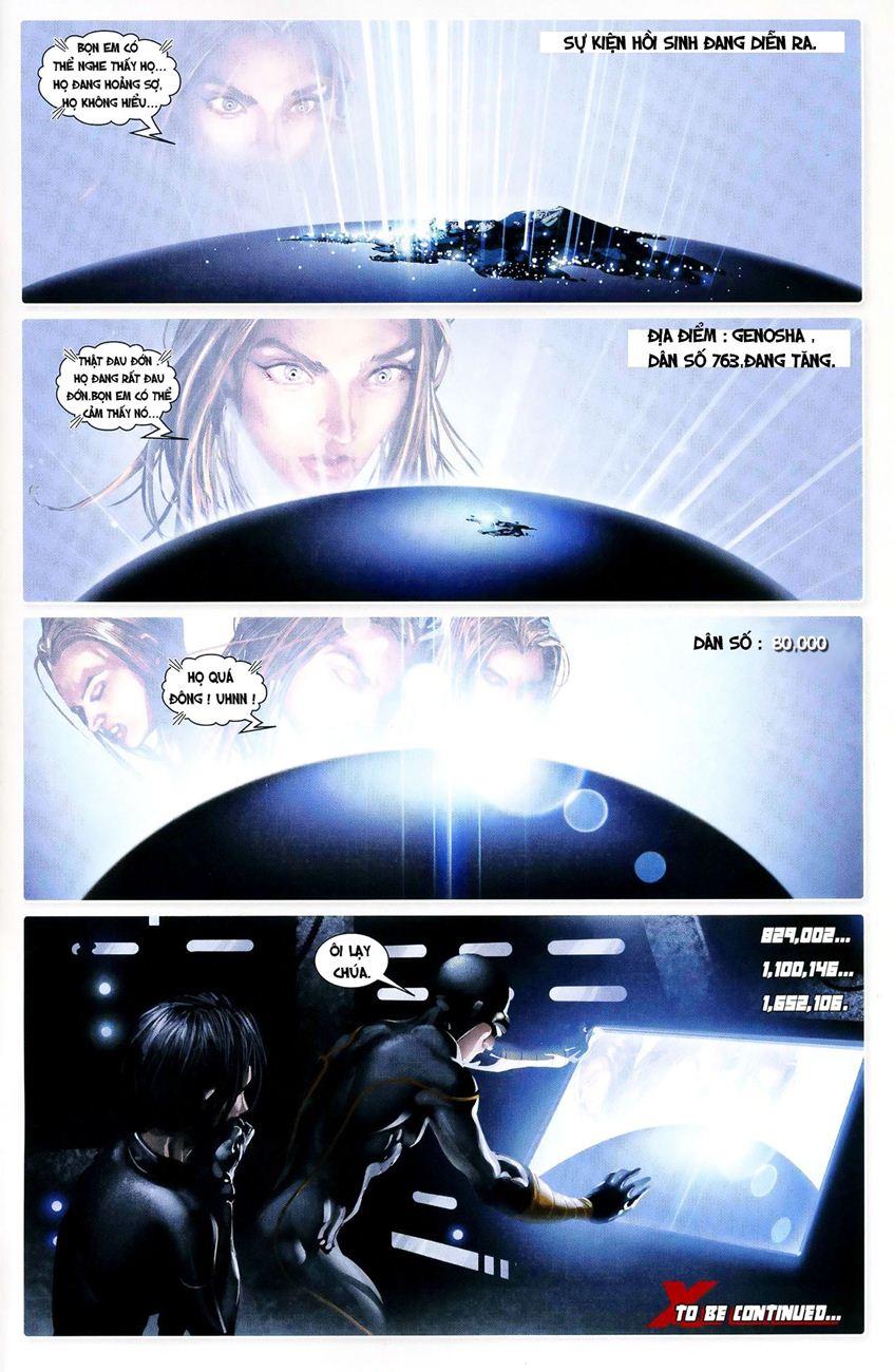 X-Men Necrosha chap 3 trang 23