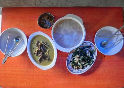 Resepi siput tuntul masak santan sesuai makan bersama ambuyat / sagu