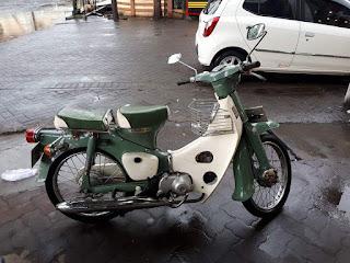 Koleksi Motor Langka Honda Pispot 50cc tahun 75 ..Dijual Nih Sob