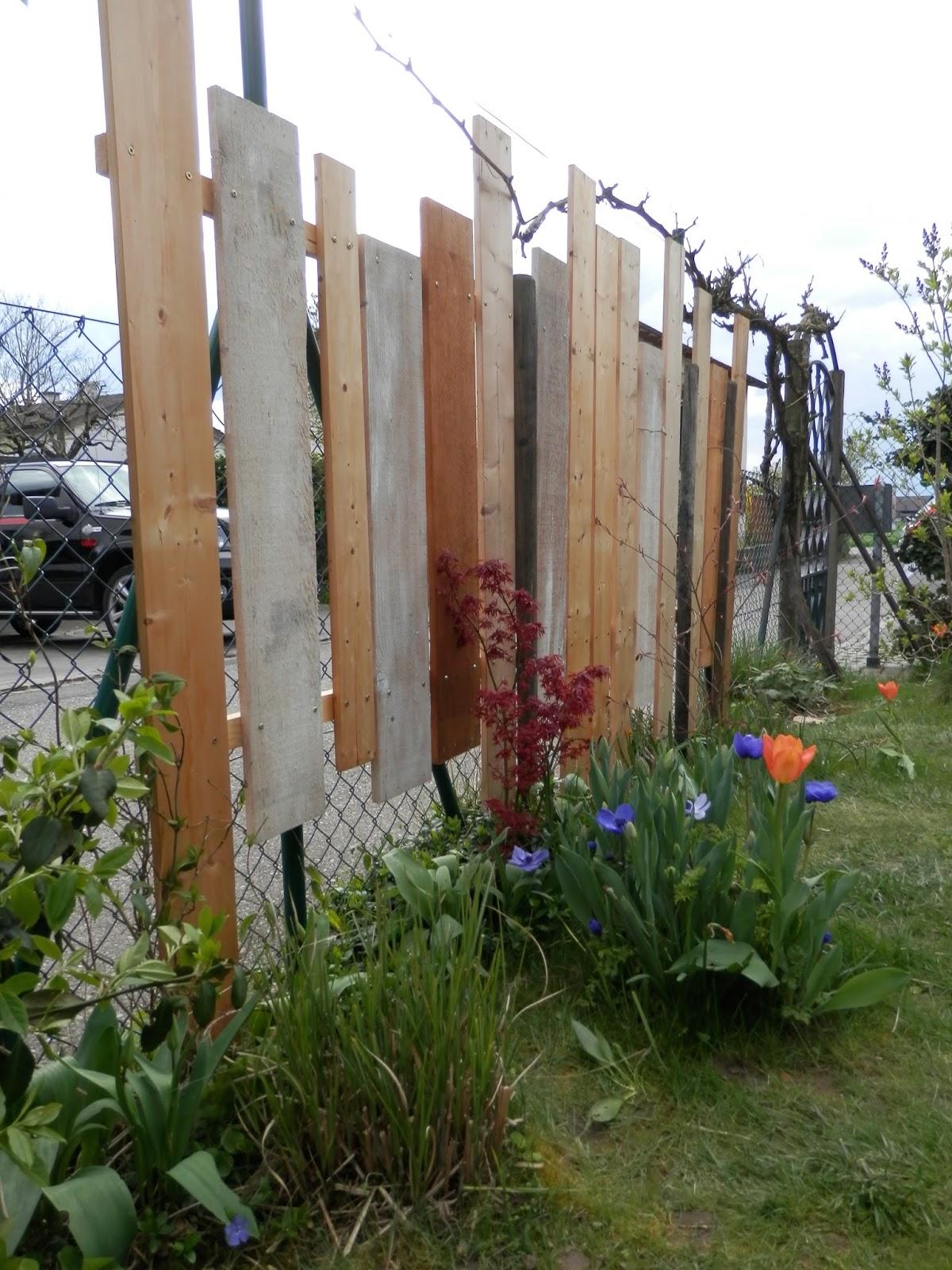 kinderbijou DIY Sichtschutz aus Restholz