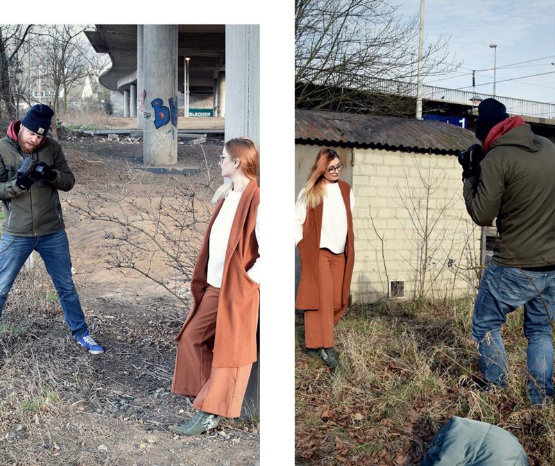 Mein Fotoshooting für die Brigitte, Making Off, Artikel Brigitte