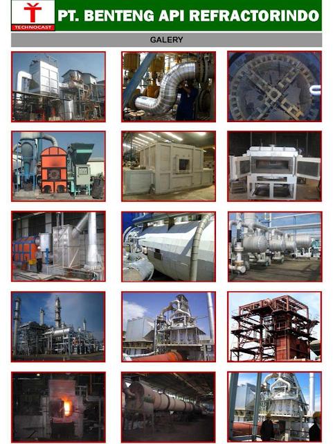 Jasa Pekerjaan Refractory & Insulation di Berbagai Industri di Indonesia