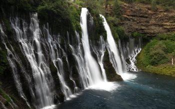 Wallpaper: Burney Falls