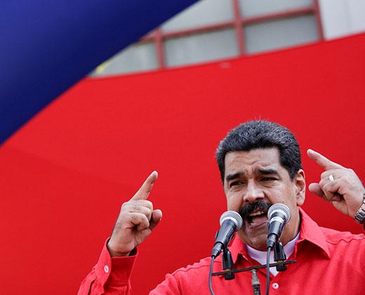 """Maduro: """"Al gobernador de Miranda lo vamos a barrer"""" en las regionales"""