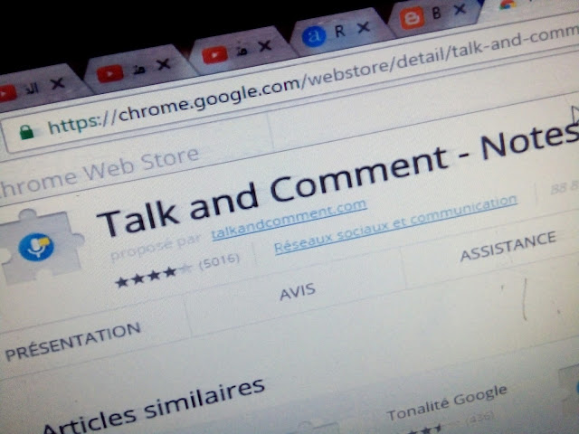 Talk and Comment .  تعليق صوتي . تعليق صوتي على يوتيوب و فيس بوك .