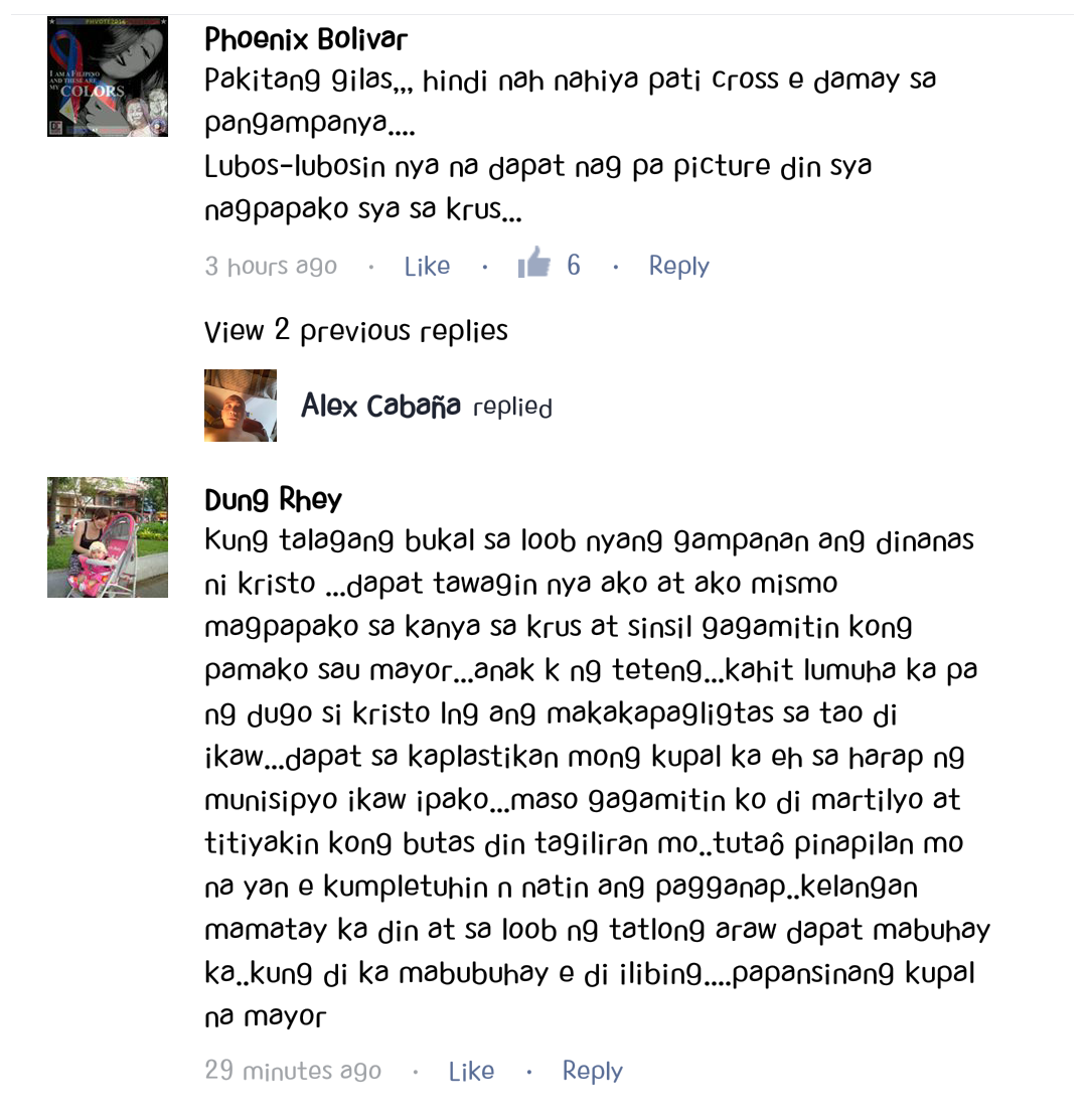 Comments of Netizens